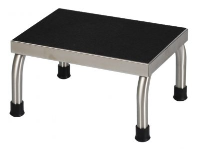 UMF Medical SS8376 Stainless Steel Foot Stool One Step