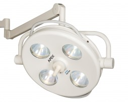 "Philips Burton APXSC10 APEX OR 10"" Single Surgical Light Ceiling Mount"