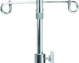 Brewer 11350 Aluminum Base 2 Prong IV Stand