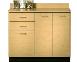 Clinton 8042 Three Doors Two Drawers Base Cabinet