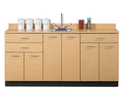 Clinton 8072 Six Doors Three Drawers Base Cabinet