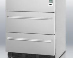 Summit SP6DSSTB7MEDDTADA Medical 3 Drawer Refrigerator