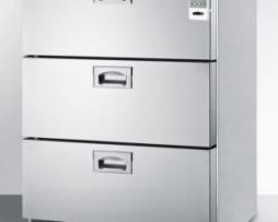 Summit SP6DS7MEDDTADA Medical 3 Drawer Refrigerator