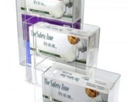 Unico 22373 Glove Box Dispenser 3 Vertical Mounts