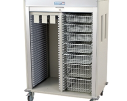 Harloff MS6140CATH-4 Catheter Medical Storage Cart