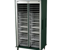 Harloff MS8140-URO Medical Storage Cart Double Column