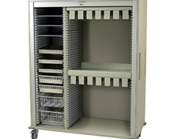 Harloff MS8160CATH-2 Catheter Medical Storage Cart