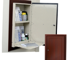 Harloff WL2780RECTRM-DC Wooden Laminate Medication Cabinet