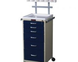 Harloff 3156K-ANS Mini Line 6 Drawer Anesthesia Cart