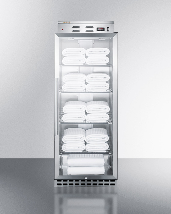 Single Door Warmer ~ Summit phc g stainless steel cf blanket warmer on sale