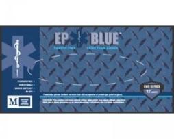 Innovative 181400 Dermassist Ep Blue Medical Gloves