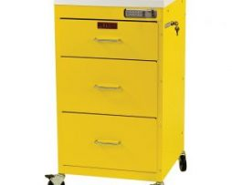 Harloff 3143E Mini Line 3 Drawer Infection Control Cart