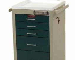 Harloff 3245E-ANS Mini Line Anesthesia Cart