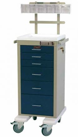 Harloff 3256E-ANS Mini Line Anesthesia Cart