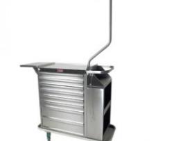 Harloff 6025E Stainless Steel Eight Drawer Cast Cart