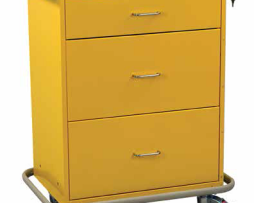 Harloff 7510E Classic Isolation Infection Control Cart