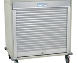 Harloff MS4040 Double Column Short Medical Storage Cart