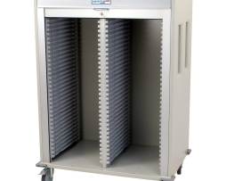 Harloff MS6140 Double Column Medical Storage Cart