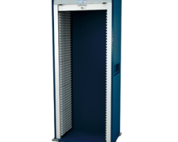 Harloff MS8138 Medical Storage Cart Single Column