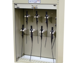 Harloff SCBR-8DP Bronchoscope ENT 8 Scope Storage Cabinet