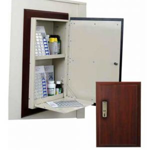 Harloff WL2784ETRMPKG-DC Wooden Laminate Wall Medication Cabinet