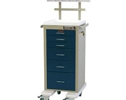 Harloff AL3256E-ANS Aluminum Mini Line Anesthesia Cart