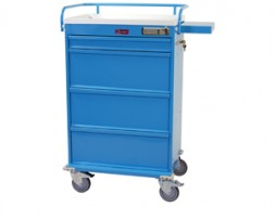 Harloff VLT150EMOT Medicine on Time Medication Cart