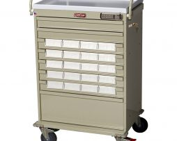 Harloff VLT20EBIN5 Value Line Med Bin Medication Cart