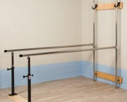 Clinton 3-3307 Wall Mounted Folding Parallel Bars