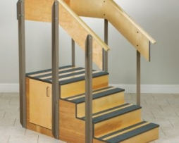 Clinton 4-8010 Staircase Storage Island