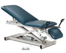 Clinton 80360 Open Base Power Table Adjustable Backrest