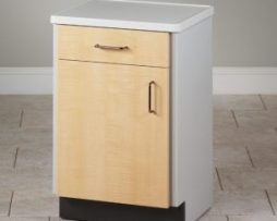 Clinton 8711-A Molded Top Treatment Bedside Cabinet