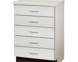 Clinton 8805-A Molded Top Medical Treatment Cabinet