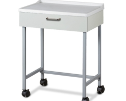 Clinton 8900-A Molded Top Mobile Equipment Treatment Cart