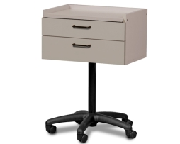 Clinton 8920 Mobile 2 Drawer Equipment Treatment Cabinet