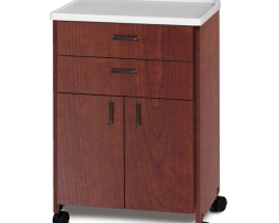Clinton 8922-A Molded Top Mobile Treatment Cabinet
