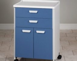 Clinton 8922-A Mobile Treatment Cabinet Molded Top