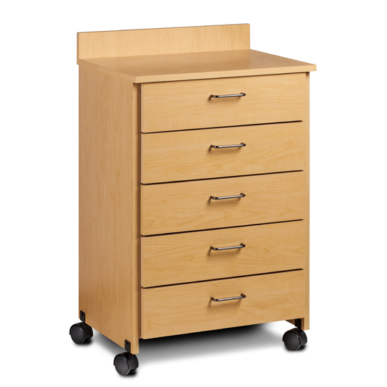 Clinton 8950 Mobile 5 Drawer Treatment Cabinet On Sale