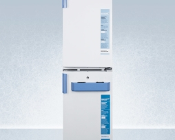 Summit FF511L-FS407LSTACKMED2 Medical Refrigerator Freezer