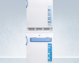 Summit FF7L-VT65MLSTACKMED2 Medical Refrigerator Freezer