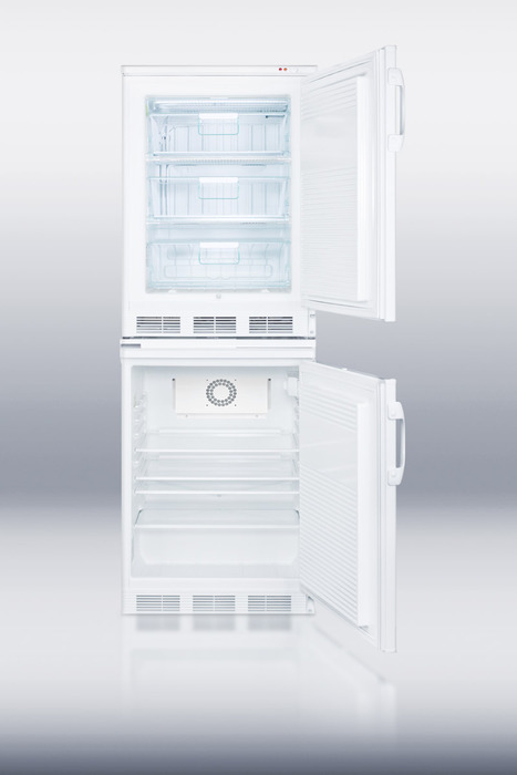 Summit Ff7l Vt65mlstackmed Medical Refrigerator Freezer