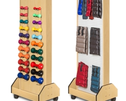 Clinton 5127 Physical Therapy Wallaby Peg Rack