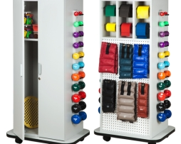 Clinton 6155 Physical Therapy Elements Cabinet Peg Racks