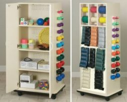 Clinton 6155 Physical Therapy Cabinet Peg Racks