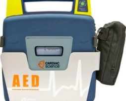 Cardiac Science 180-2022-001 Wall Mounted Storage Sleeve