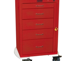 Harloff 4255B Mini24 5 Drawer Emergency Cart