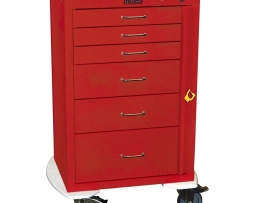 Harloff 4256B Mini24 Line 6 Drawer Emergency Cart