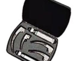 Welch Allyn 69696 MacIntosh HPX Fiber Optic Laryngoscope Set