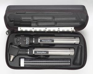 welch allyn 92820 pocketscope 2.5 v halogen diagnostic set