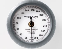 Welch Allyn DS44-12 DuraShock Integrated Aneroid Sphygmomanometer